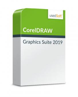 Licence monoposte CorelDRAW Graphics Suite 2019 Licence de base+Upgrade