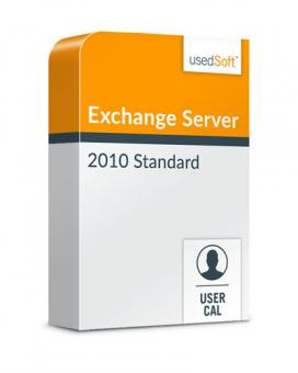 Microsoft Exchange Server User CAL 2010 Standard Volume licence