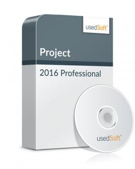 Microsoft Project 2016 Professional Volume licence incl. DVD