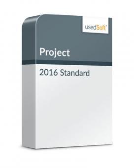 Microsoft Project 2016 Standard Volumenlizenz