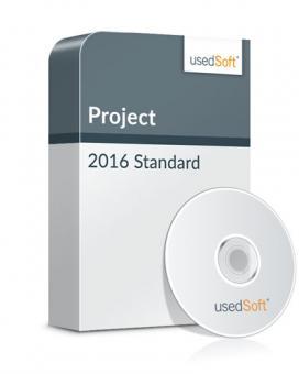 Microsoft Project 2016 Standard Volumenlizenz inkl. DVD
