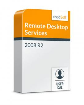 Microsoft Remote Desktop Services User CAL R2 2008 Volumenlizenz