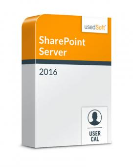 Microsoft SharePoint Server User CAL 2016 Volume licence