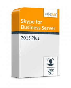 Microsoft Skype for Business Server User CAL 2015 Plus Volumenlizenz