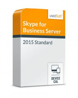 Licence en volume Microsoft Skype for Business Server la CAL par device 2015 Standard