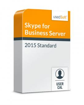 Licence en volume Microsoft Skype for Business Server la CAL par user 2015 Standard