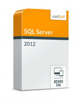 Microsoft SQL Server Device CAL 2012 Volumenlizenz