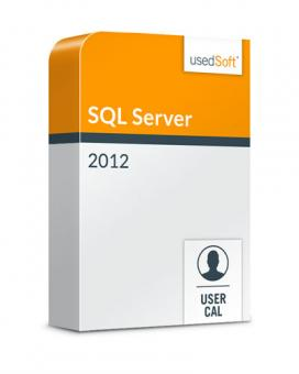 Microsoft SQL Server User CAL 2012 Volume licence