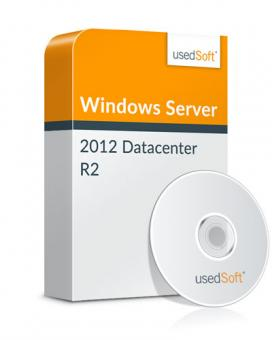 Licence en volume Microsoft Windows Server R2 2 Proc. 2012 Datacenter incl. DVD