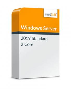 Microsoft Windows Server 2 Core 2019 Standard Volumenlizenz